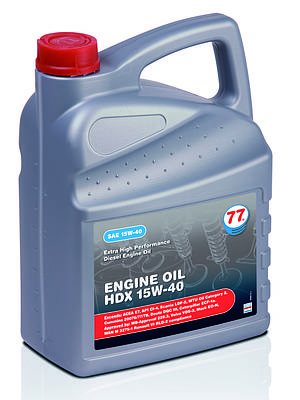 ENGINE OIL HDX 15W-40 (канистра 20 л)