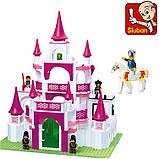 Конструктор Sluban 0151 Розовая мечта Замок Принцесы 508 деталей, фото 3