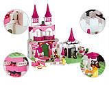 Конструктор Sluban 0151 Розовая мечта Замок Принцесы 508 деталей, фото 4