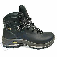 68b7e6229 Зимние мужские ботинки из натуральнго нубука, черные Grisport GR3