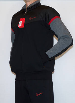 Мужской утепленный спортивный костюм NIKE (копия) XL-XXL, фото 2