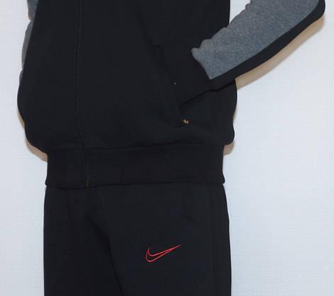 Мужской утепленный спортивный костюм NIKE (копия) XL-XXL, фото 3