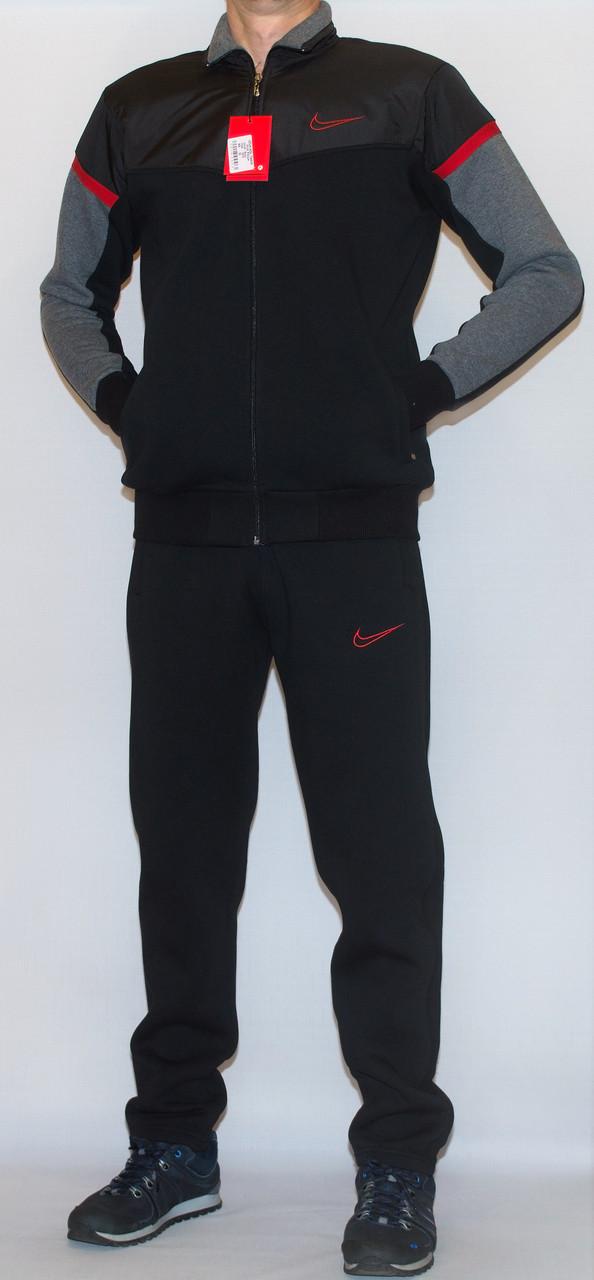 Мужской утепленный спортивный костюм NIKE (копия) XL-XXL