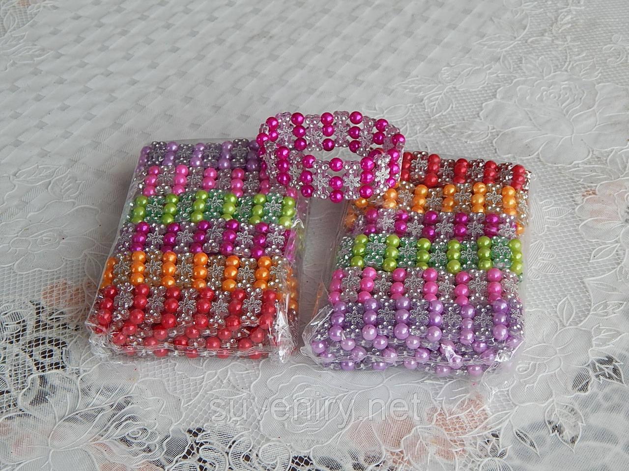 Разноцветные детские браслеты на руку