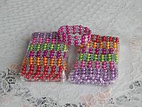Разноцветные детские браслеты на руку, фото 1