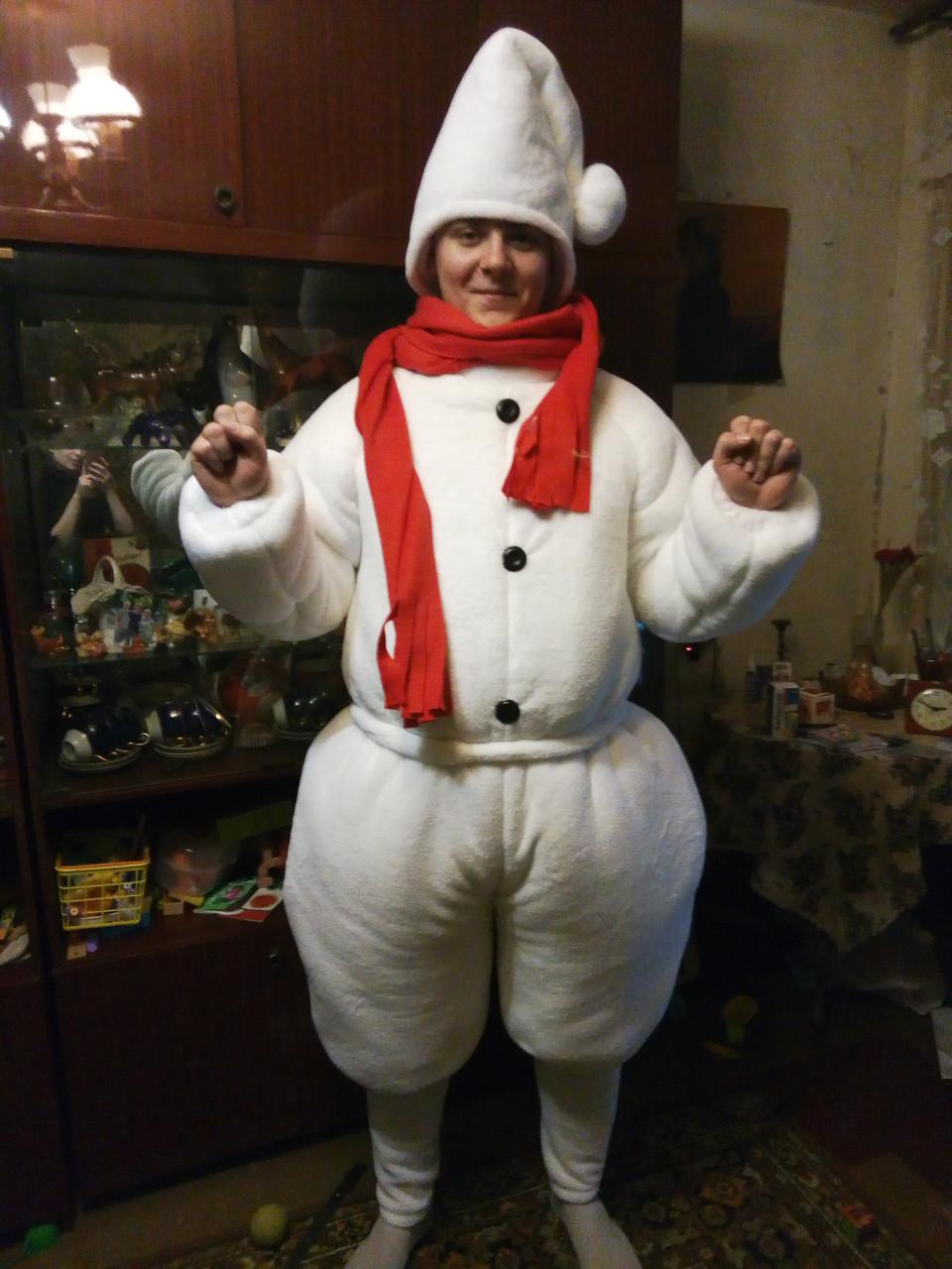 Костюм снеговик