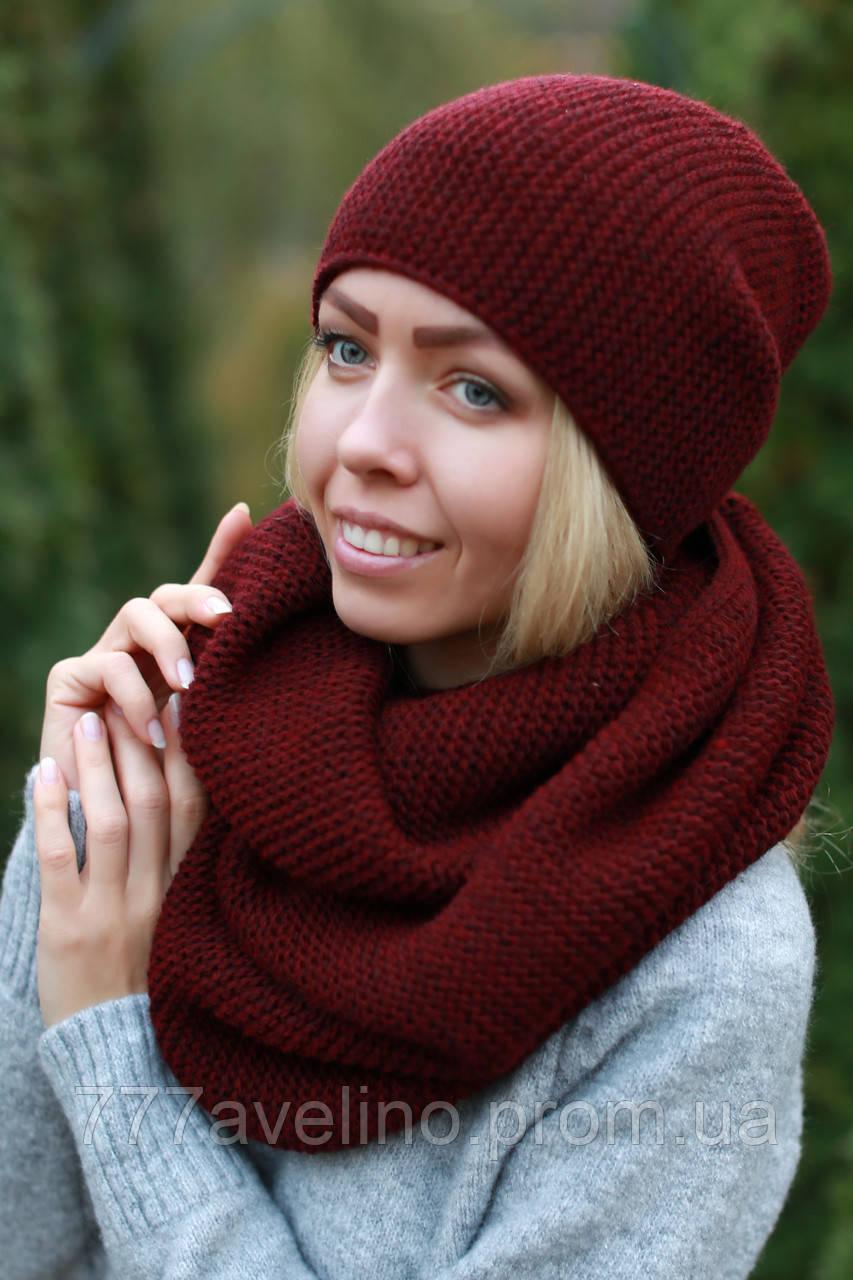 0e2525d30f6f Комплект шапка и шарф хомут