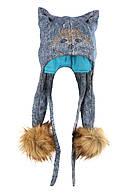 Зимняя шапка Лисица
