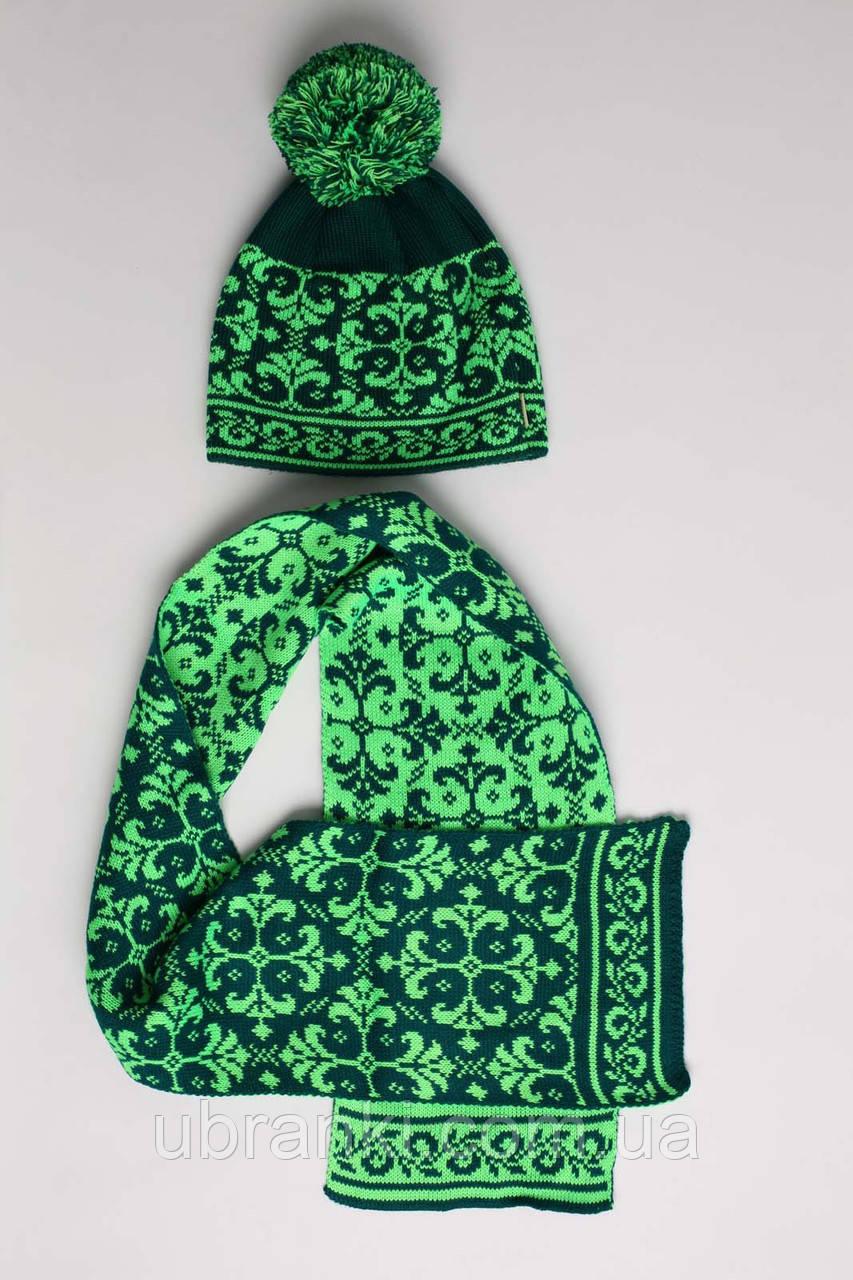 Комплект (шапка, шарф)