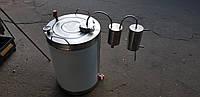 Дистиллятор под проточную воду 100л + сухопарник