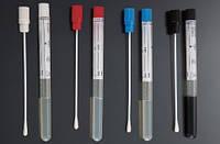 Тампон-зонд с транспортной средой AMIES с пластиковым аппликатором, стерильный, в пробирке 12*150 мм, Aptaca  18000745