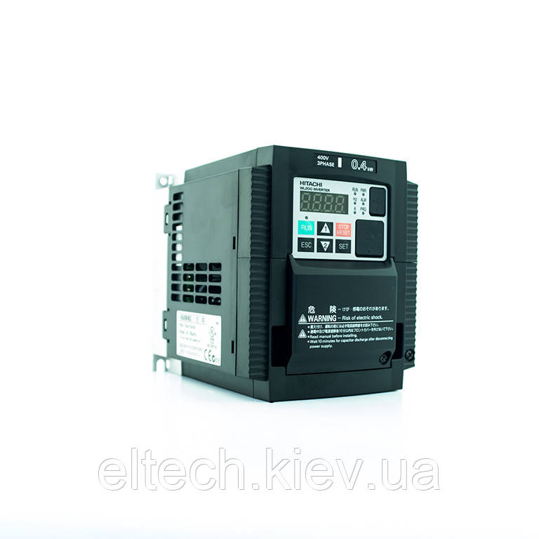 Инвертор Hitachi WL200-004HFE, 0.4кВт, 400В