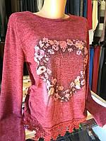 Свитер женский трикотажный, фото 1