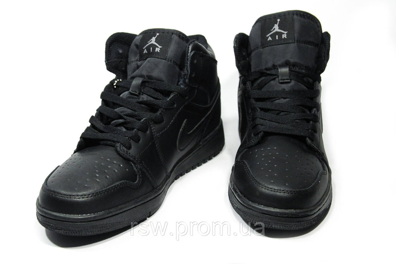 2ebec8623111 ... Зимние мужские кроссовки (на меху) Nike Air Jordan 1-067 , фото 3 ...