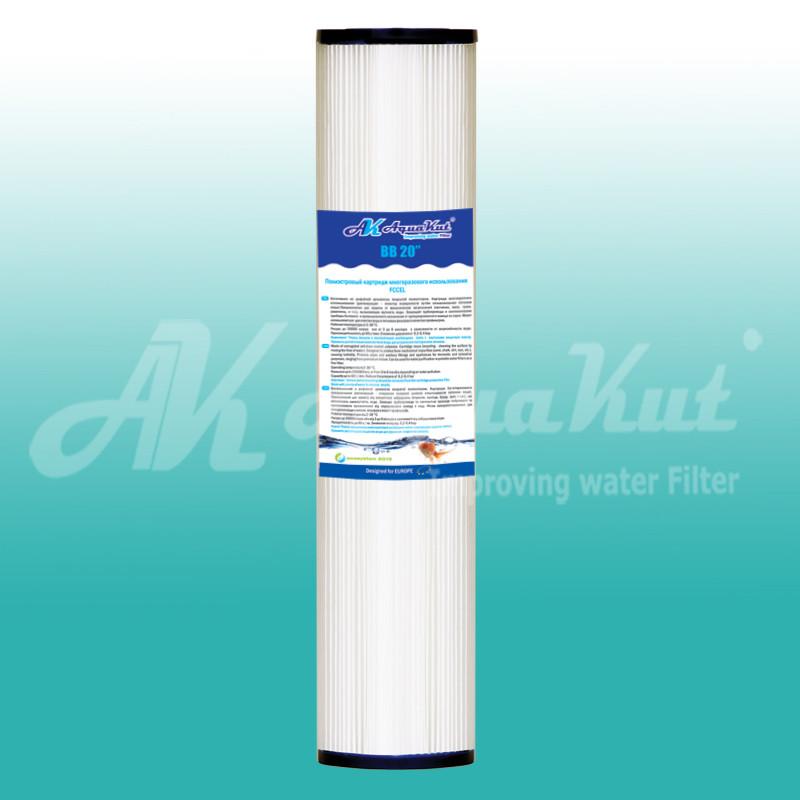 """Картриджи для очистки воды Картридж AquaKut FCCEL ВВ 20"""" 4 1/2"""" - «Тепло Всегда» в Днепре"""