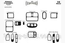 Накладки на торпеду Renault Clio и Symbol 2006-2009 (декор панели Рено)