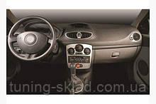 Накладки на торпеду Renault Clio IV 2012+ (декор панели Рено Клио)