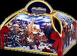 """Упаковка новорічна """"Скриня Колядники"""" для солодощів 500 г в асортименті, фото 5"""