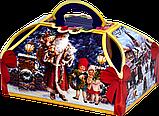 """Упаковка новорічна """"Скриня Колядники"""" для солодощів 500 г в асортименті, фото 6"""