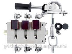 Рубильник разрывной  ВР 32Д 35С 31240 250А  с боковой смещенной рукояткой на переднюю панель