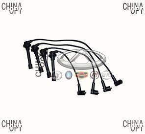 Провода высоковольтные, комплект, LF481, 1.6, силикон, Lifan 620 [Solano], LF479Q1-3707000A, Sentech