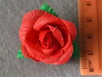 Атласні квіточки 3904 упаковка 10 шт, фото 1
