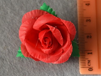 Атласные цветочки 3904 упаковка 10 шт, фото 1