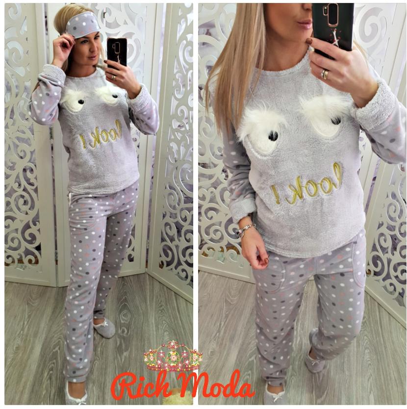 Домашний костюм пижама теплый на флисе недорого в интернет-магазине от  прямого поставщика р. 575296e71d115