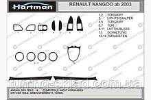 Накладки на торпеду (Hartman) Renault Kangoo 1998-2008 (декор панели Рено Канго)