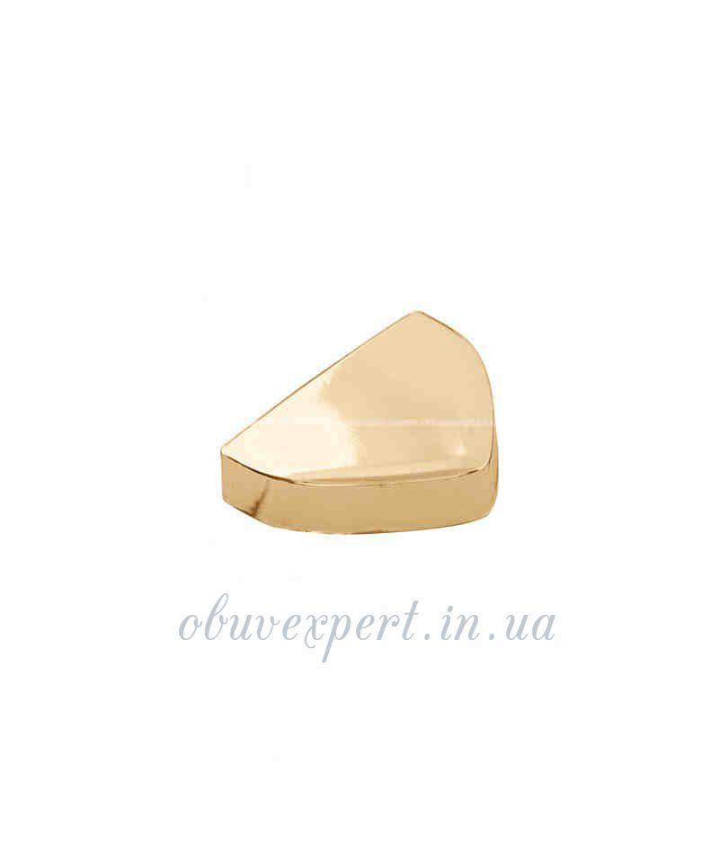 Декоративная наконечник 18*24 мм Красное золото