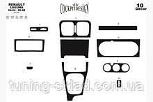 Накладки на торпеду Renault Laguna 1994-2001  (декор панели Рено Лагуна)