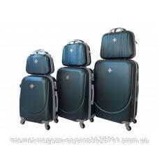 848e1cb69019 Набор чемоданов и кейсов 6 в 1 Bonro Smile изумрудный  продажа, цена ...