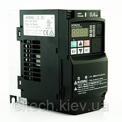 Частотник Hitachi WJ200-004SF, 0.4кВт, 220В