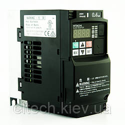 WJ200-004SF, 0.4кВт, 220В. Частотник Hitachi