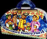 """Упаковка новорічна """"Скриня Колядники"""" для солодощів 500 г в асортименті, фото 9"""