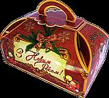 """Упаковка новорічна """"Скриня Колядники"""" для солодощів 500 г в асортименті, фото 8"""