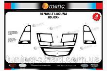 Накладки на торпеду Renault Laguna 2007+  (декор панели Рено Лагуна)
