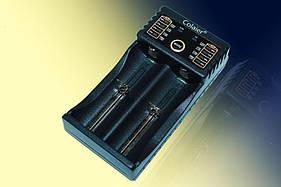 Устройство зарядное для аккумуляторов Colaier С20 (14500/16340/18650/26650) на 2АКБ