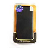 Повербанк 6000 мА/ч 2,1A 2 USB, фото 5