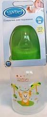 Бутылочка для кормления Lindo PK053 с силиконовой соской 125 мл