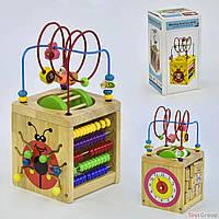 Деревянный Логический Куб С 31522 (16)