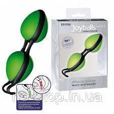 Вагинальные шарики - Joyballs secret, green-black
