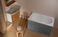 Акриловая ванна Lilia 120x70