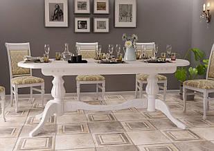 Стіл кухонний обідній з дерева Діоніс ДОК 160х90х80