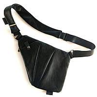 Мужская сумка через плечо Cross Body Bag ArtX Style эко кожа Чёрный #00X