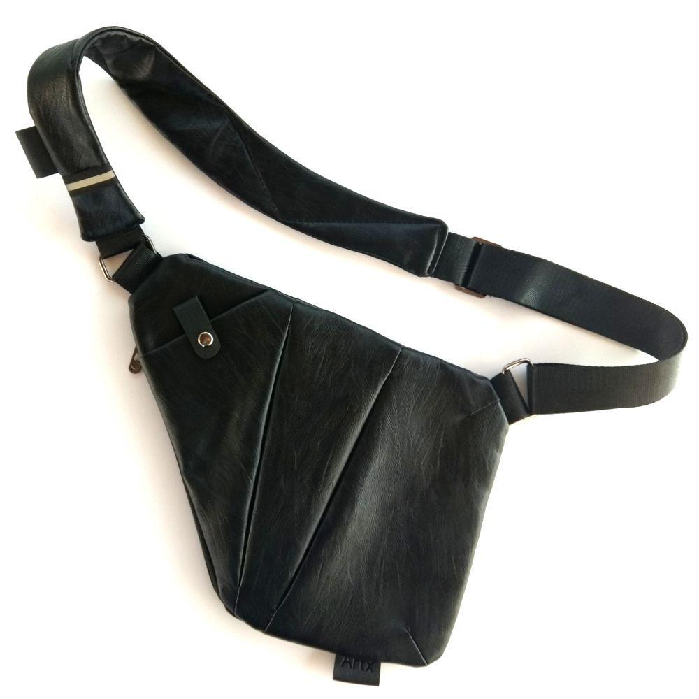49ba7e12edf9 Мужская сумка через плечо Cross Body Bag ArtX Style эко кожа Чёрный #00X