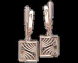 Серьги серебряные  Fusion 41192, фото 2