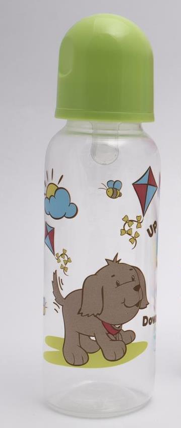 Бутылочка для кормления Lindo PK054 с силиконовой соской 250 мл