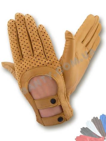 Автомобильные перчатки женские. Модель 356, фото 2