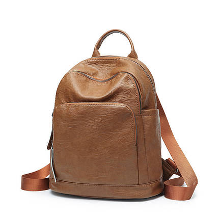 Рюкзак женский коричневый Nancy Brown eps-8059, фото 2